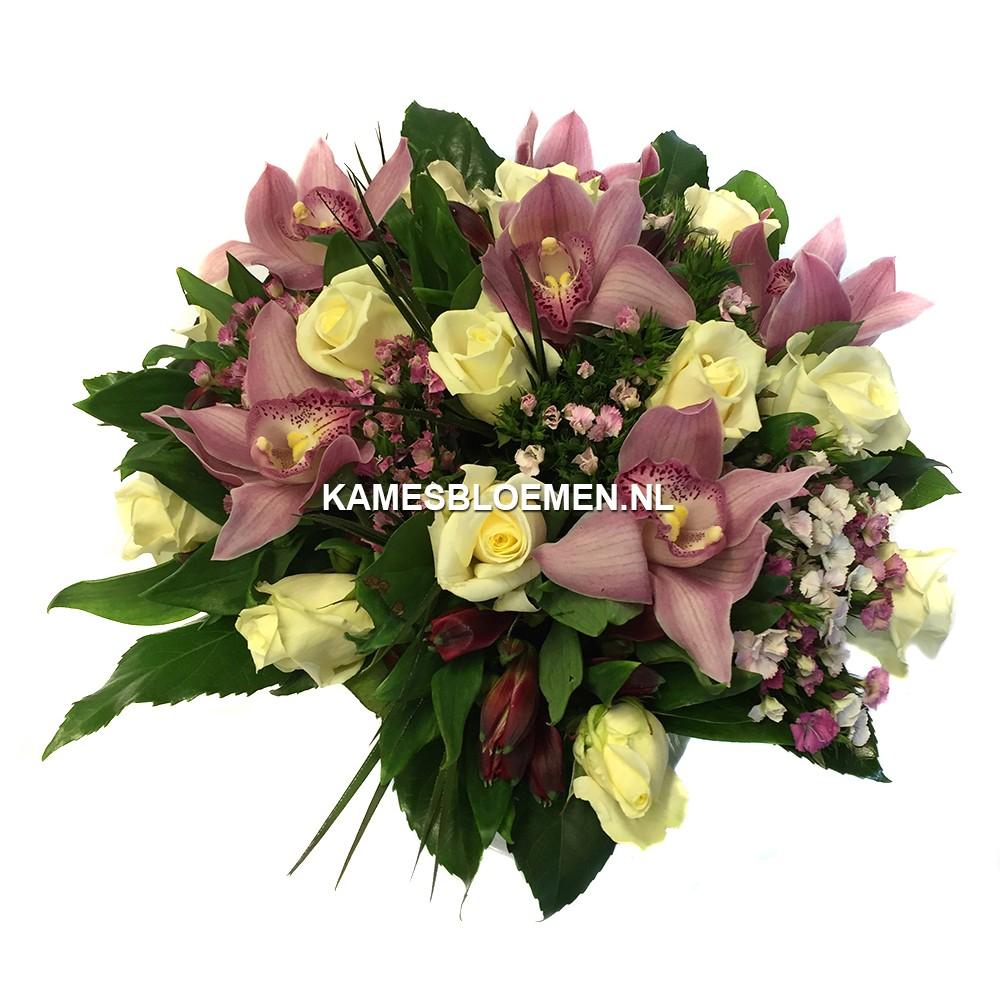 orchidee boeket bestellen kames bloemen. Black Bedroom Furniture Sets. Home Design Ideas